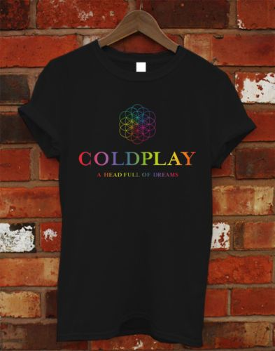 COLDPLAY A Head Full Of DreamsTour 2016 Tee