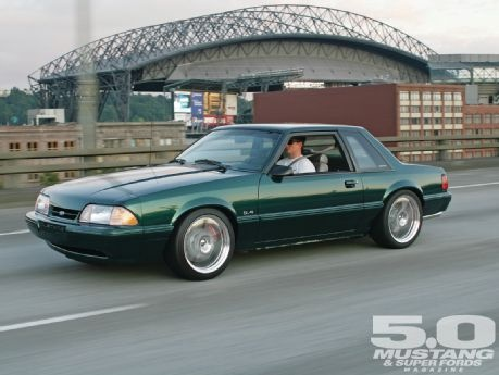 1991 Ford Mustang LX - Green Living: Simplicity is sometimes hard to beat, and that's what we have with Aaron Lonson's '91 LX in terms of visuals