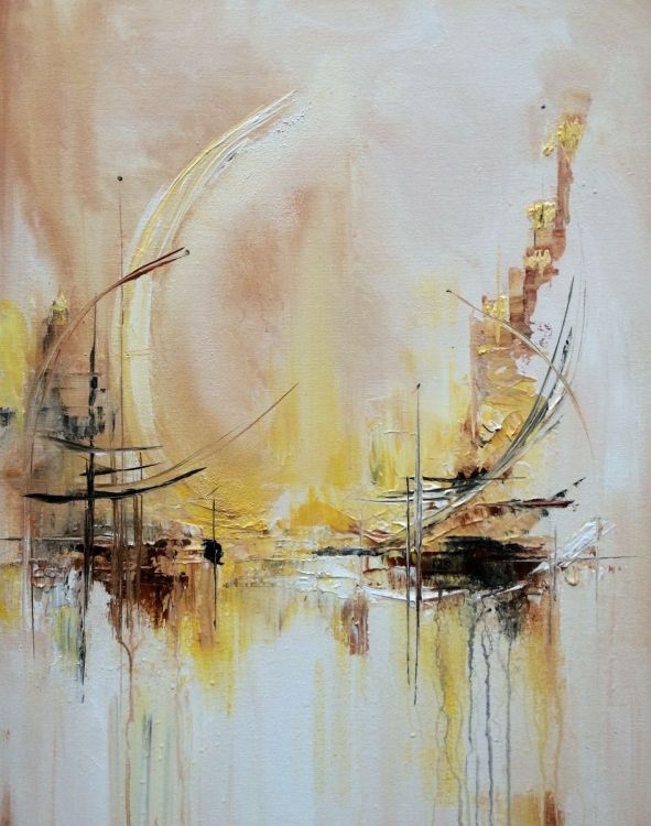 Somewhere by Mo Tuncay #painter #painting #art