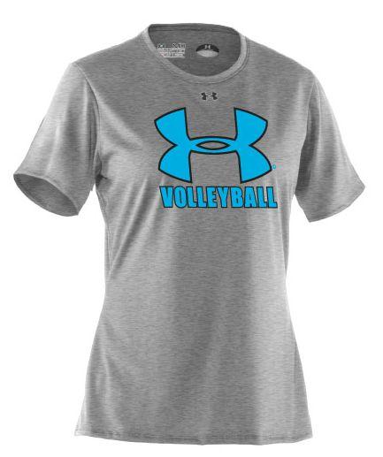 Under Armour Women's Volleyball Locker Short Sleeve T-Shirt