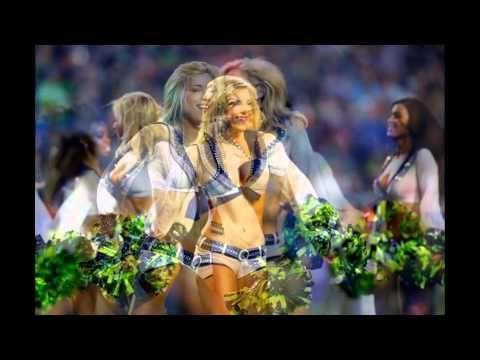 Piękne cheerleaderki - Super Bowl