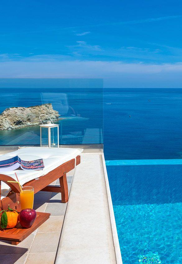 Villa Lygaria in Agia Pelagia, Heraklion, Crete