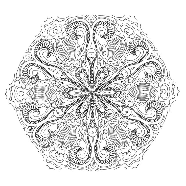 New Coloring Book Dream With Mandalas Has Been Released It 50 Beautiful And A Link To Another Designs All Coming From The Artists Studio
