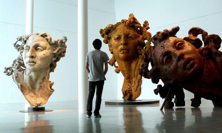 Sculptures by Javier Marin