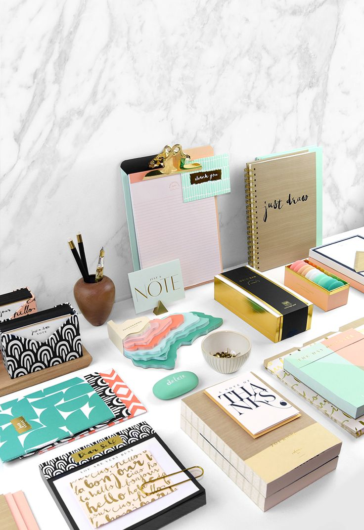 Make all your #deskgoal dreams come true with the new Bijou Collection. Designed by Elum exclusively for Paper Destiny. Get it now at Papyrus stores.