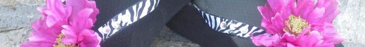 Customized Wedding Flip Flops
