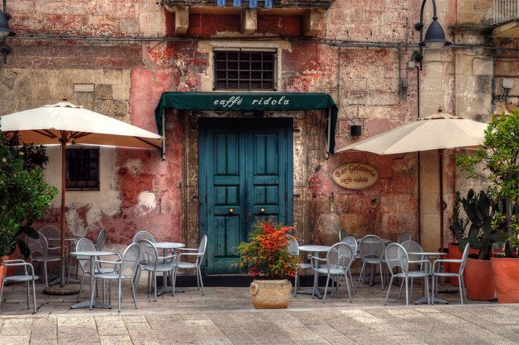 Cafe Ridola, Matera, Italy