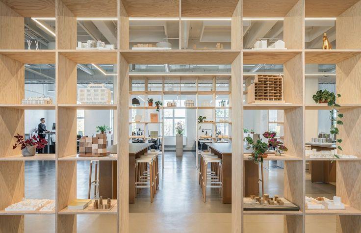 Kjellander Sjöberg KS-Studio Wooden-shelves