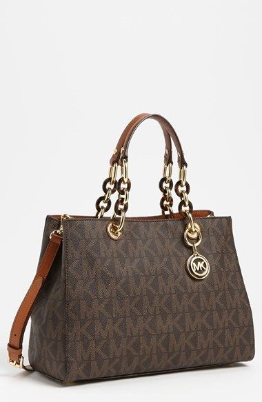 Php 8,500.00 MICHAEL Michael Kors 'Cynthia - Medium' Satchel