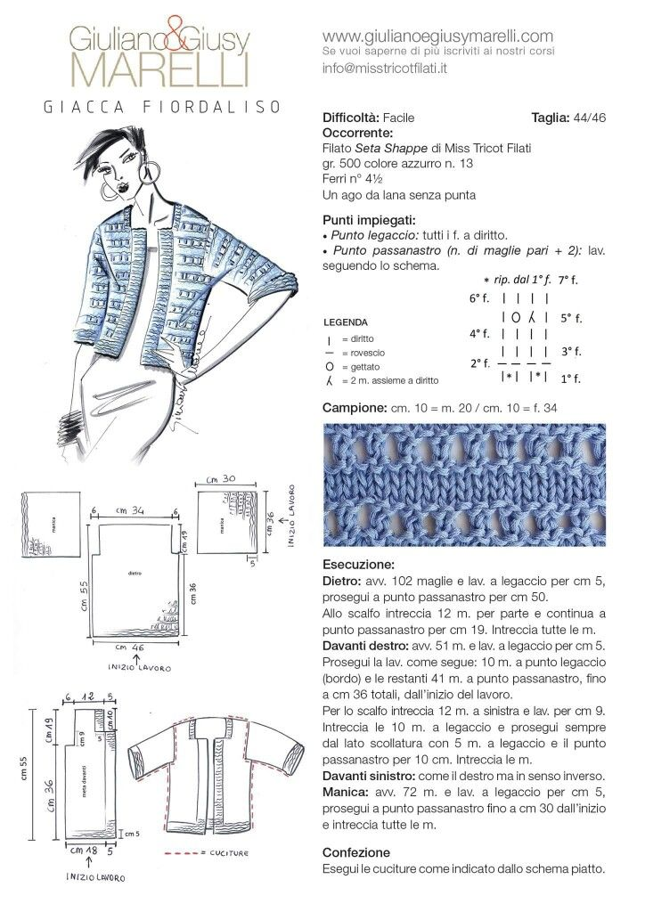 Modello giacca