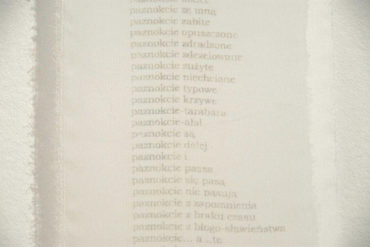 Izabela Łęska Wytwory / Creations
