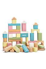 Micki 60 Byggklossar Pastell - Flicka - Babylek | Ellos Mobile