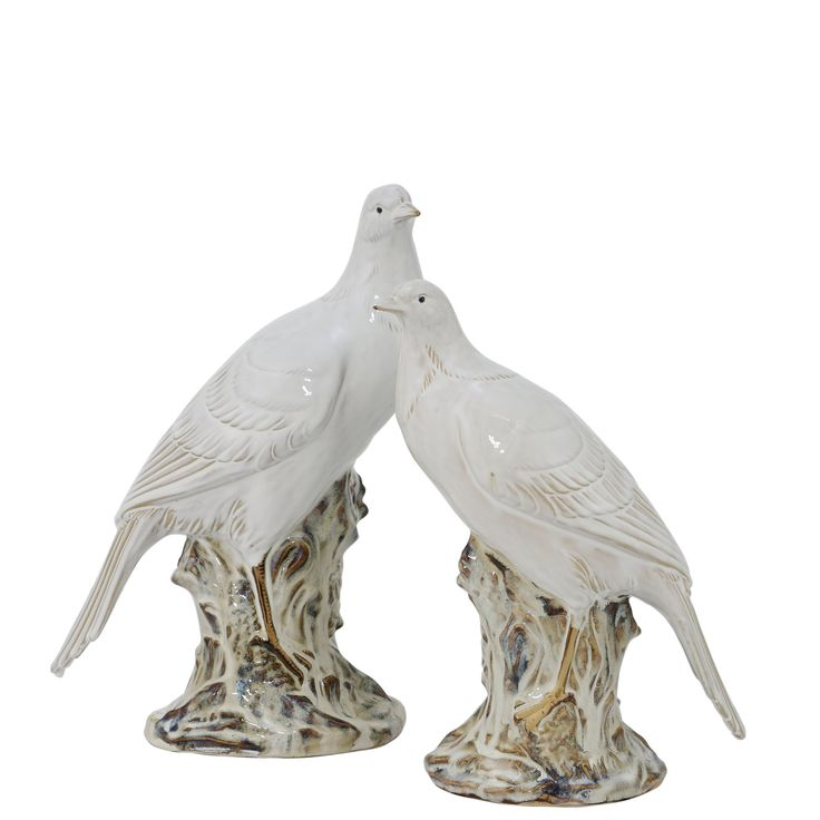 Dove Company 2 Piece Statue Set