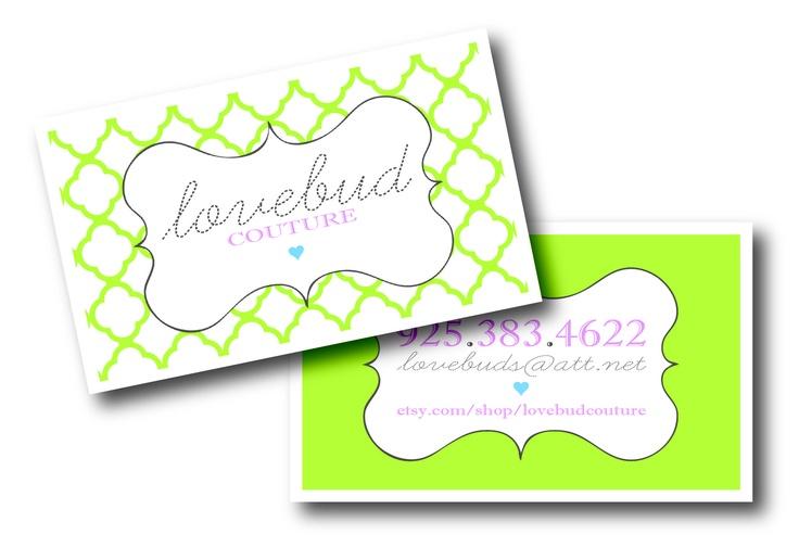 More business cards! :)S Il Vous, Cute Business Cards, Répondez S Il, Website Design, Vous Plaît