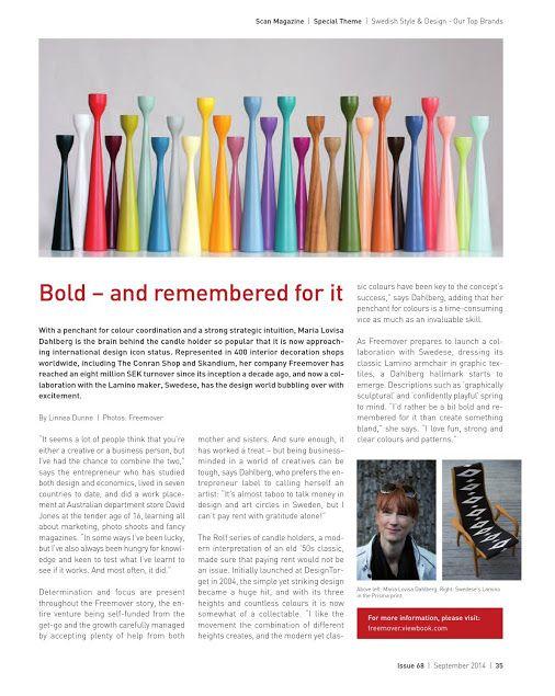 Maria Lovisa Dahlberg - Bold, and remembered for it! Scand Magazine 2014 Sökning - Google+
