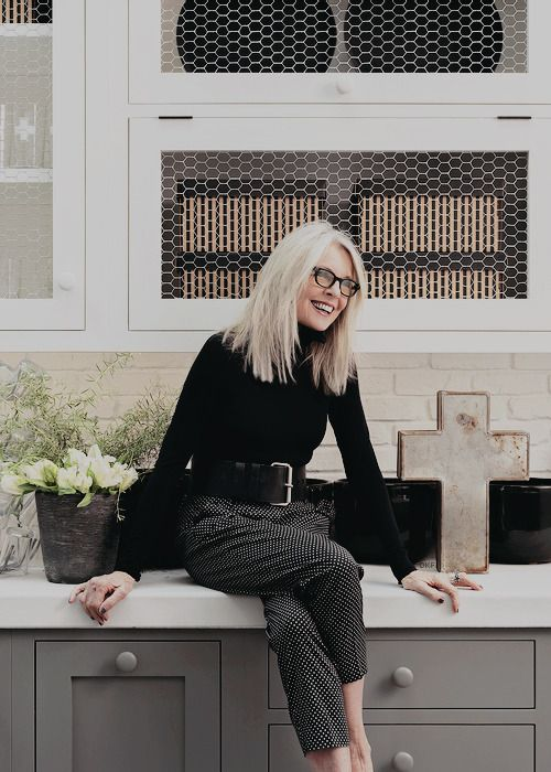 Diane Keaton photographed by Jesse Stone, 2017.