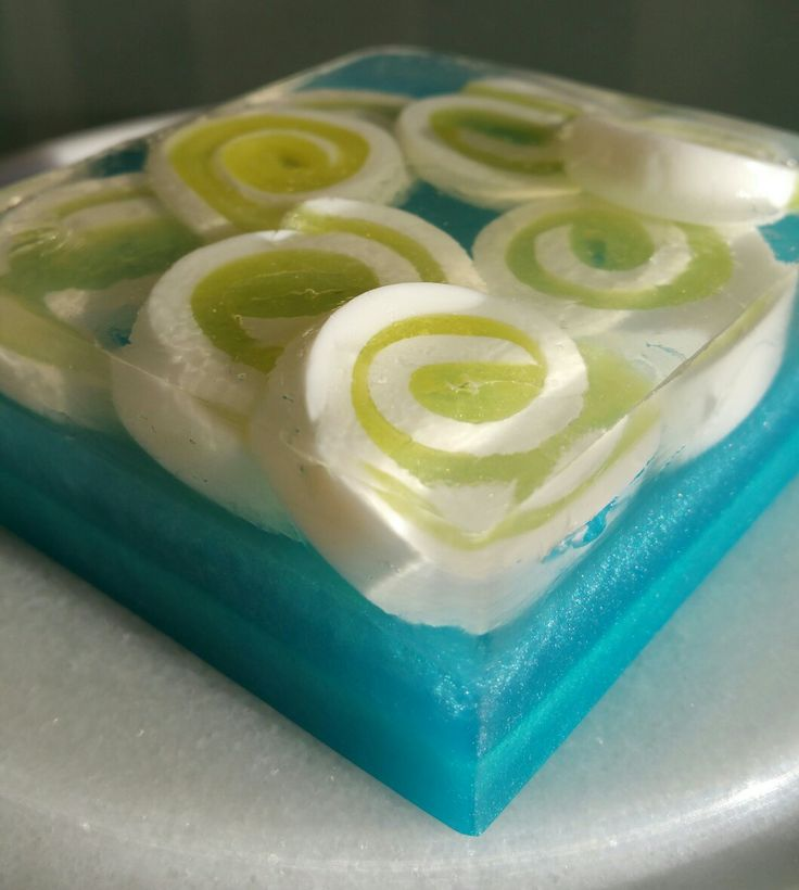 Lemongrass essential oil mp soap.