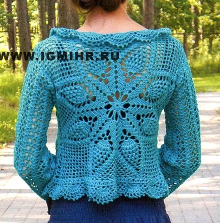 Mejores 43 imágenes de Häkelsachen en Pinterest | Punto de crochet ...