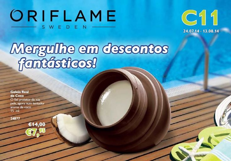 Flyer do Catálogo Oriflame 11 2014