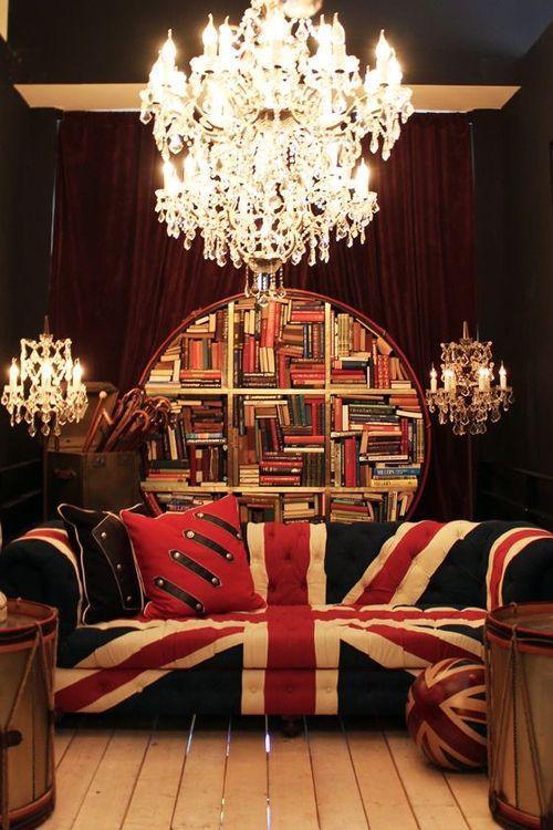1115 best interior design images on pinterest home ideas for Decoration murale union jack