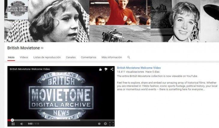 ONE: YouTube ahora cuenta con una amplia colección de videos historicos de Associated Press y British Movietone