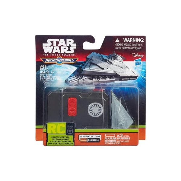 Star Wars The Force Awaken Micro Machines First Order Star Destroyer RC Vehicle