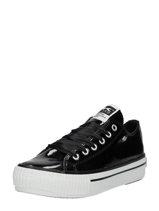 Master Platform Bk Lak Sneakers Knights Zwart British Met VzqSUpMGjL