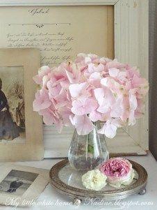 Brilliant hydrangea arrangements for home decoration (17)