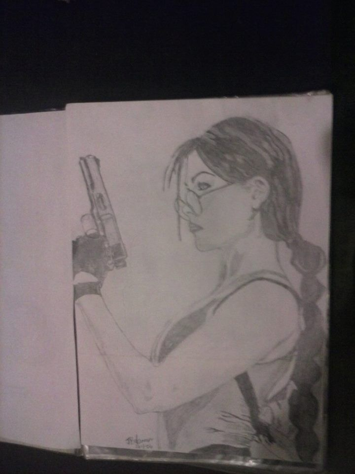 Lara Croft Artist : Jackie Bateman