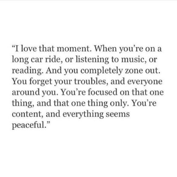 Those moments