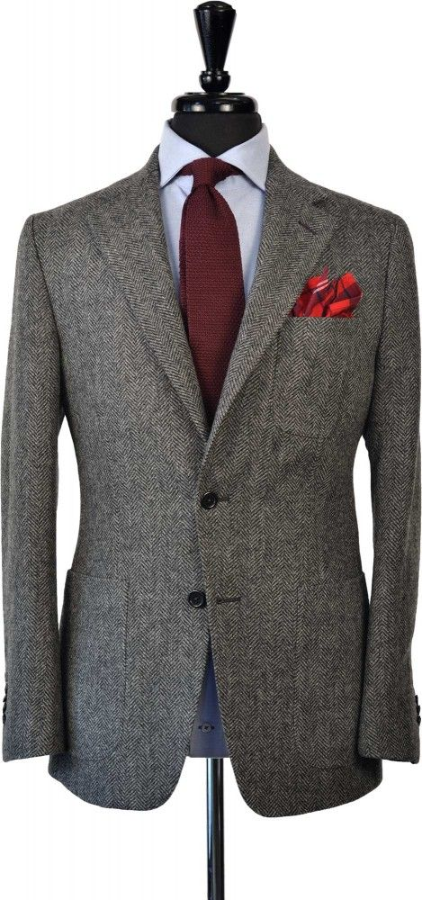Herringbone Tweed Suit | Store | Beckett & Robb