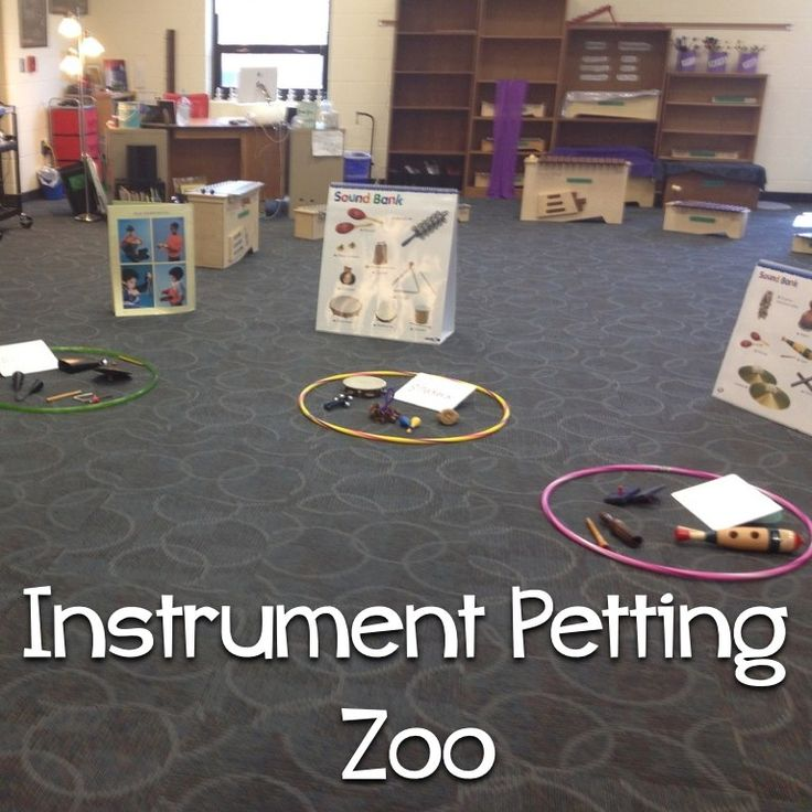 Instrument Petting Zoo for conference night!