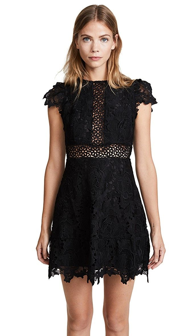 BB Dakota Calvin Scalloped Lace Dress | SHOPBOP SAVE UP TO 30% Use Code: MORE17
