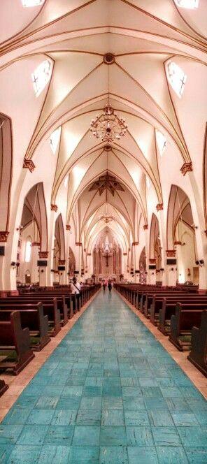 Catedral Inmaculada  Concepción, Neiva. #arquitectura #gotico