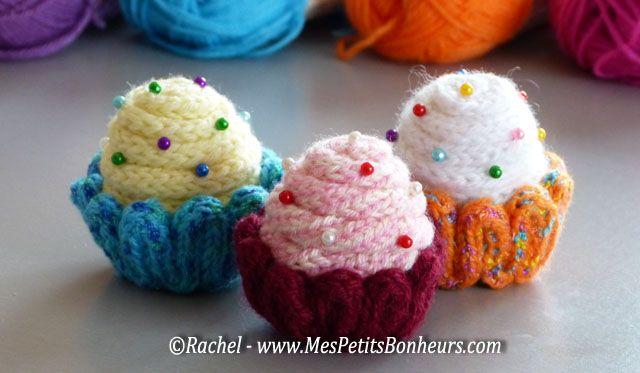 Tricotin cupcakes by Rachel - Mes Petits Bonheurs