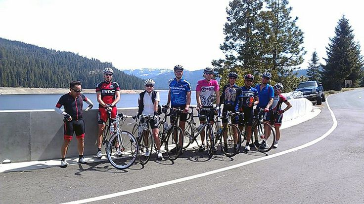 Jay's French Meadows cycling group.