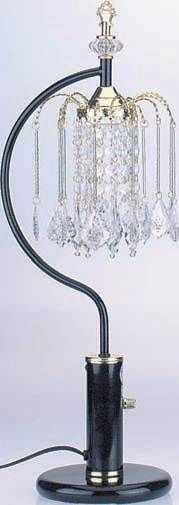 Chandelier Table Lamp By Acme Furniture ~ another idea for minis....