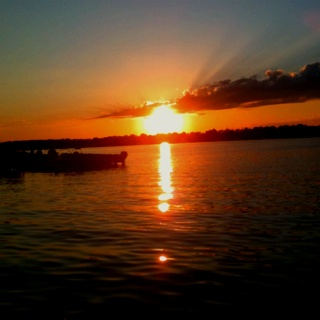 Sunsets in Minnesota ...the best way to end a day at the lake.