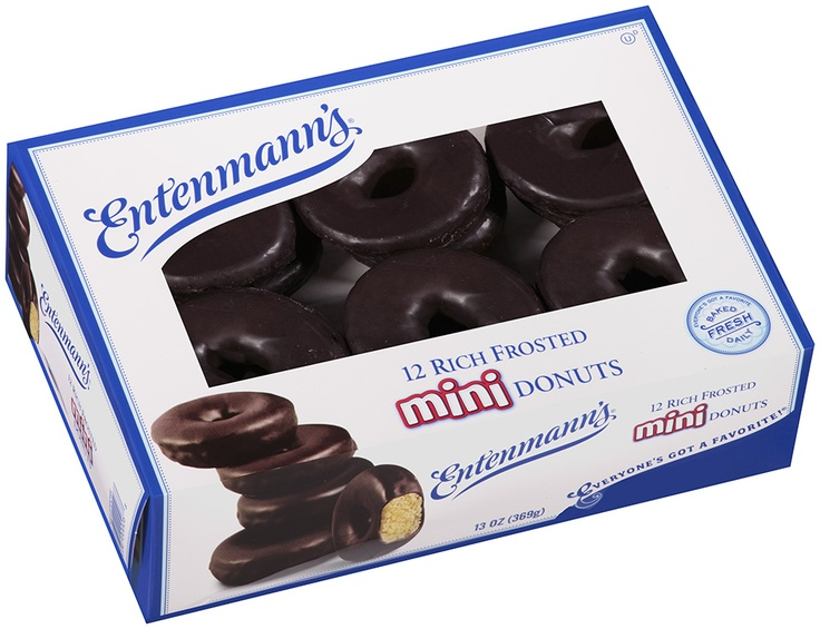 Enjoy our mini rich frosted donuts we do too entenmann