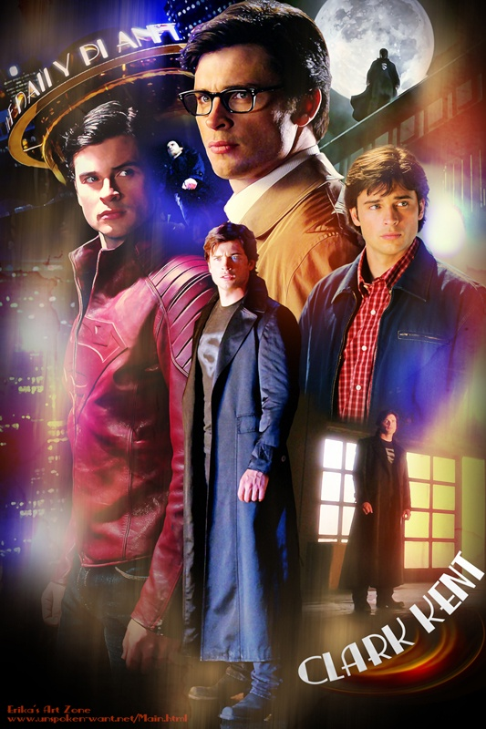 Clark Kent Poster    http://erikasartzone.wordpress.com/