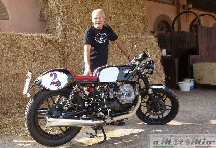 "Project aMotoMio - Moto Guzzi V35 ""Viola"""