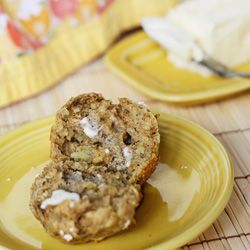 These Banana Steel Cut Oat Muffins, trying this recipe tomorrow!