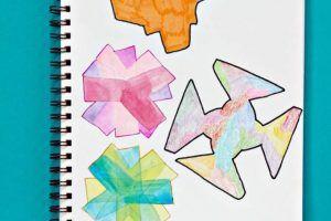 Groovy Math: Rotational Symmetry Art Project