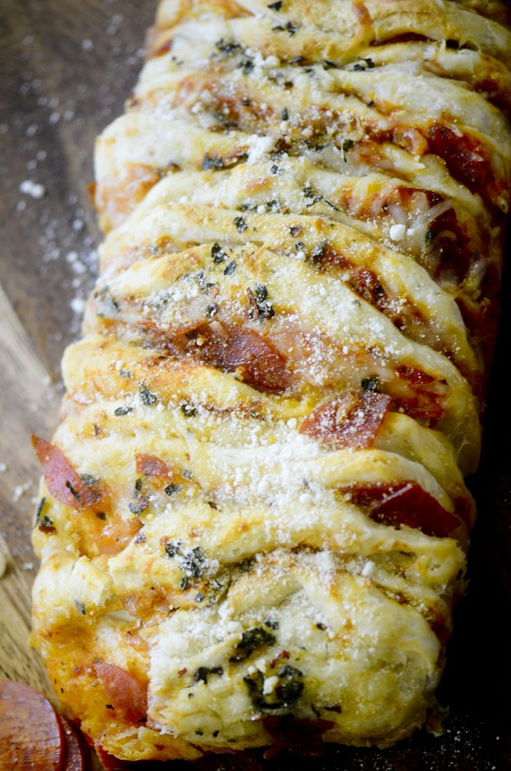 Pizza Pull-Apart Bread – Recipe Diaries