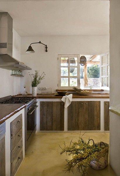 Clean kitchen interior by What Wilson wants