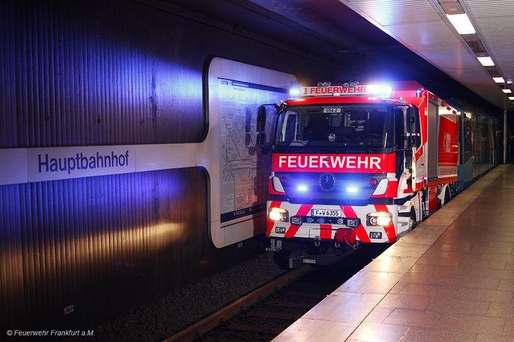 Rüstwagen Schiene - Berufsfeuerwehr Frankfurt am Main