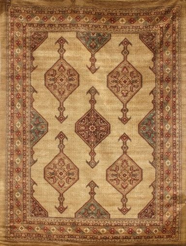 Delightful New Pakistan Hand Woven Antique Reproduction Of A 19th Century Persian  Serab Rug