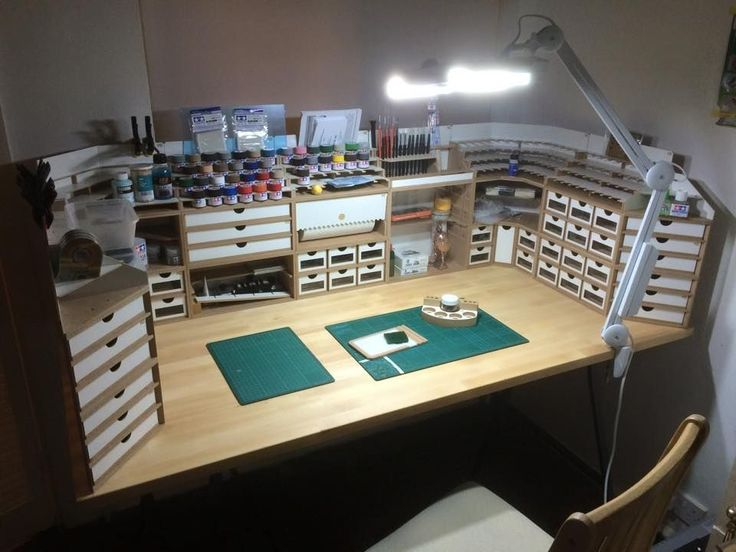 209 Best Images About Modelers Workspace On Pinterest
