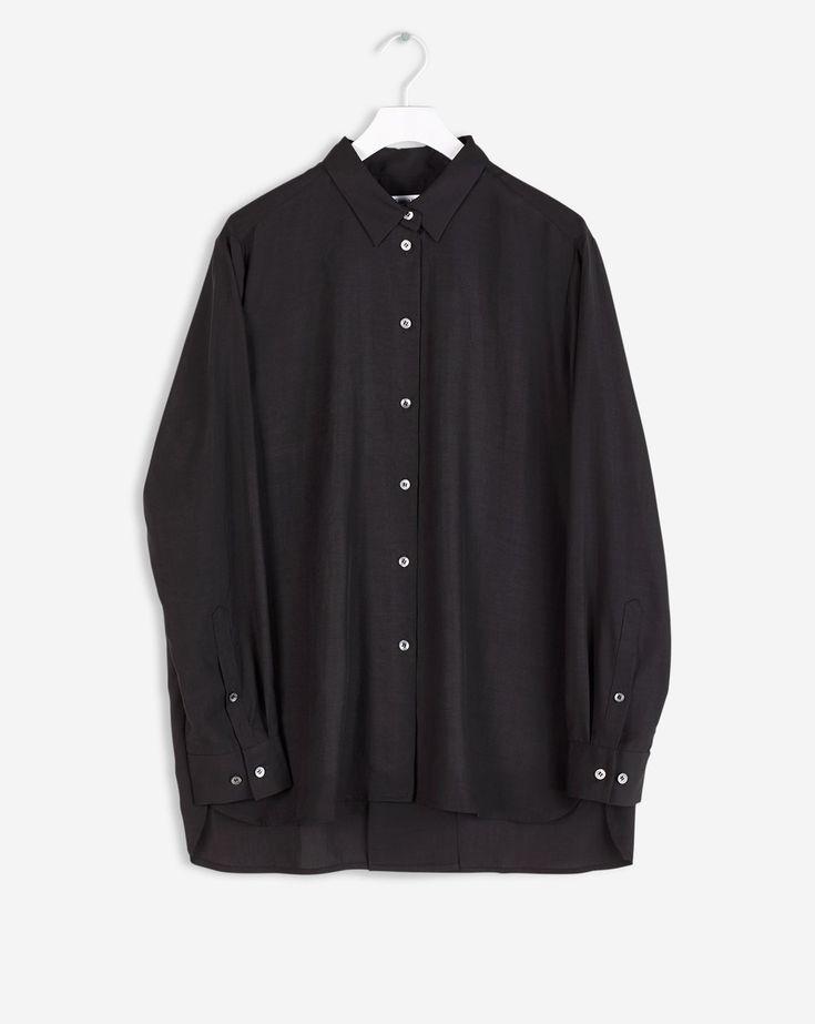 womens black shirts amp blouses next uk - 735×923