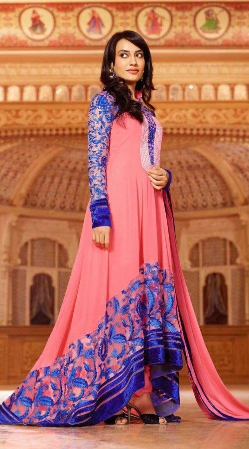 8 Best Surbhi Jyoti Salwar Kameez images  Anarkali dress